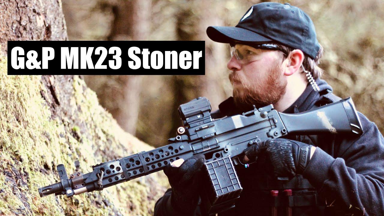 Airsoft War – G&P MK23 Stoner 2020