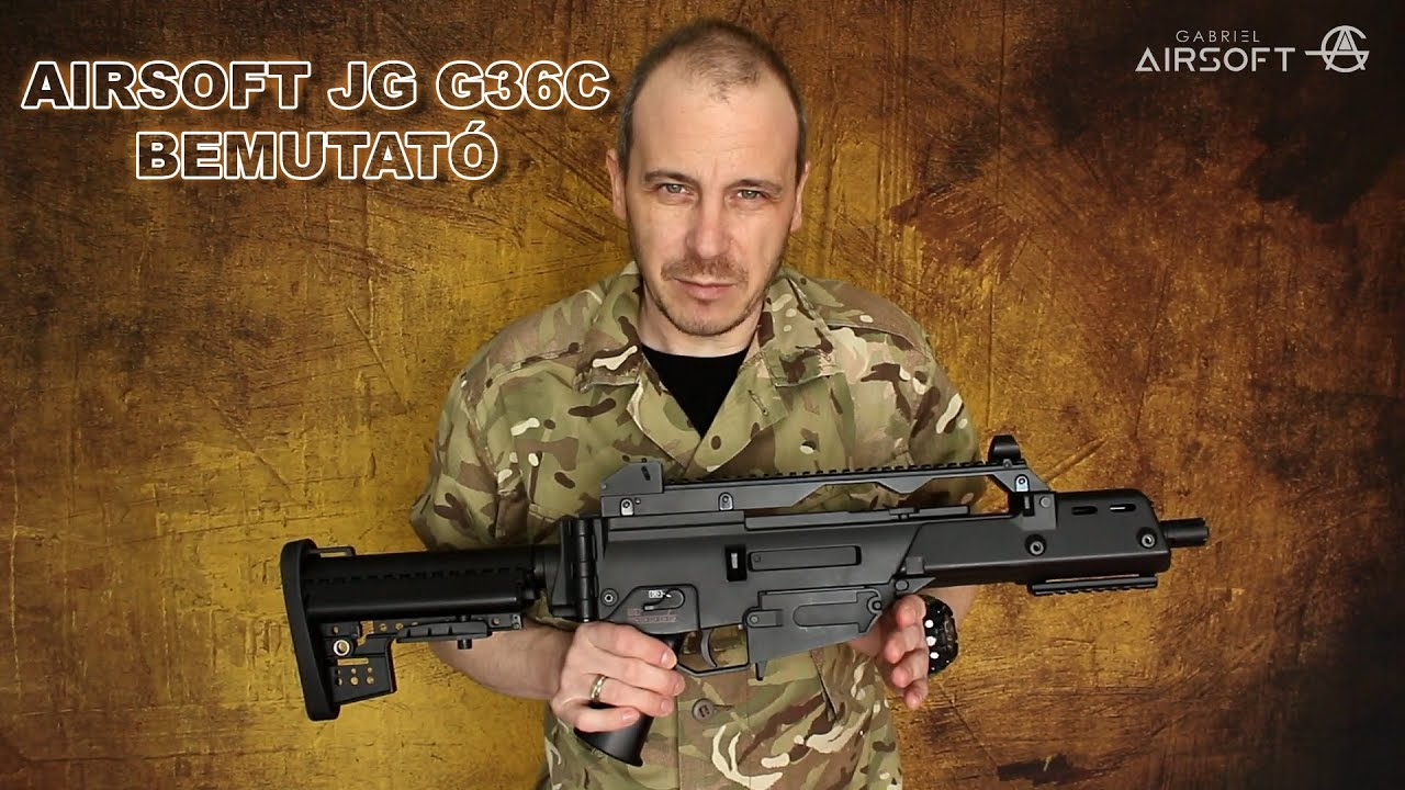 Airsoft G36C 608-6 [J.G.WORKS] exposition
