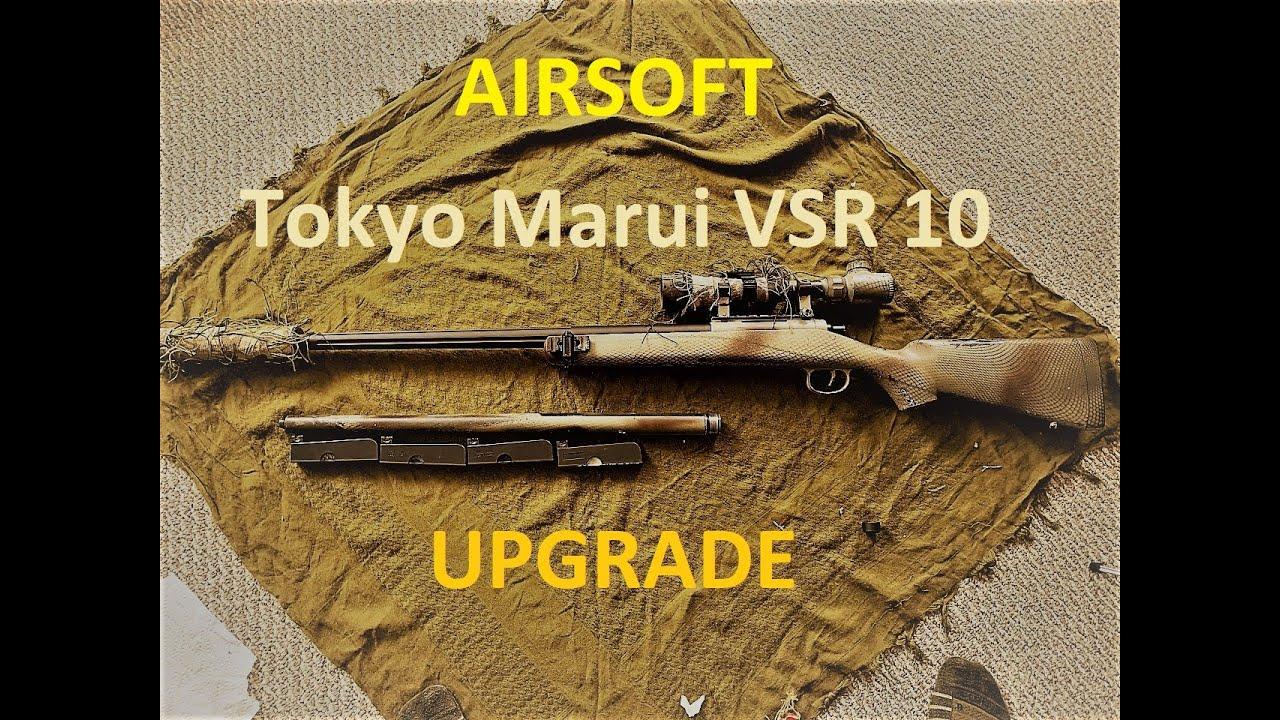 Airsoft Tokyo Marui VSR-10 Upgrade