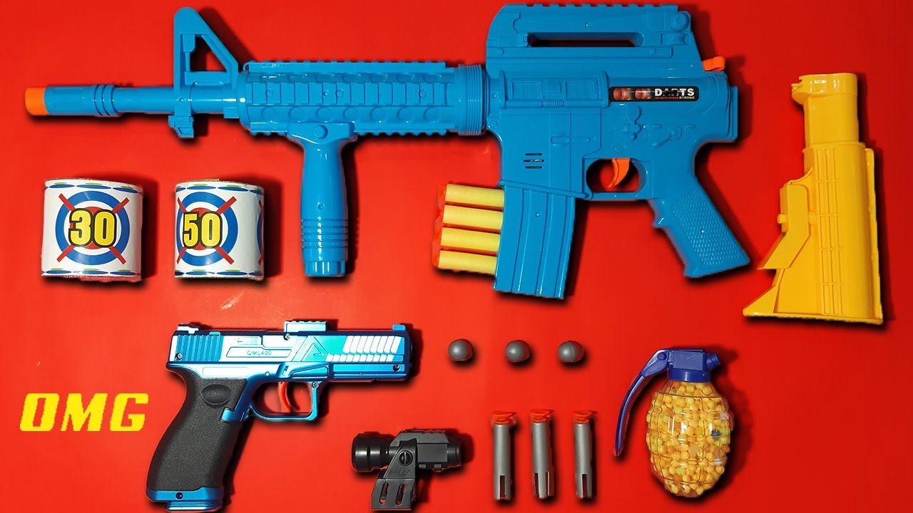 My Top Soft Bullet et BB Airsoft Toyguns