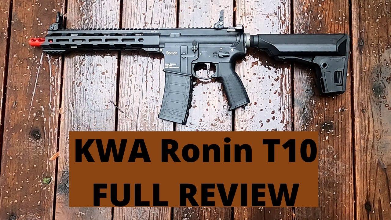 Revue complète: KWA Ronin T10 3.0 AEG Recoil