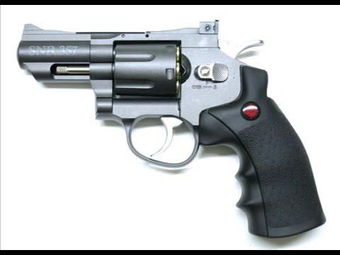 Revue revolver à pistolets CO2 Crosman SNR357