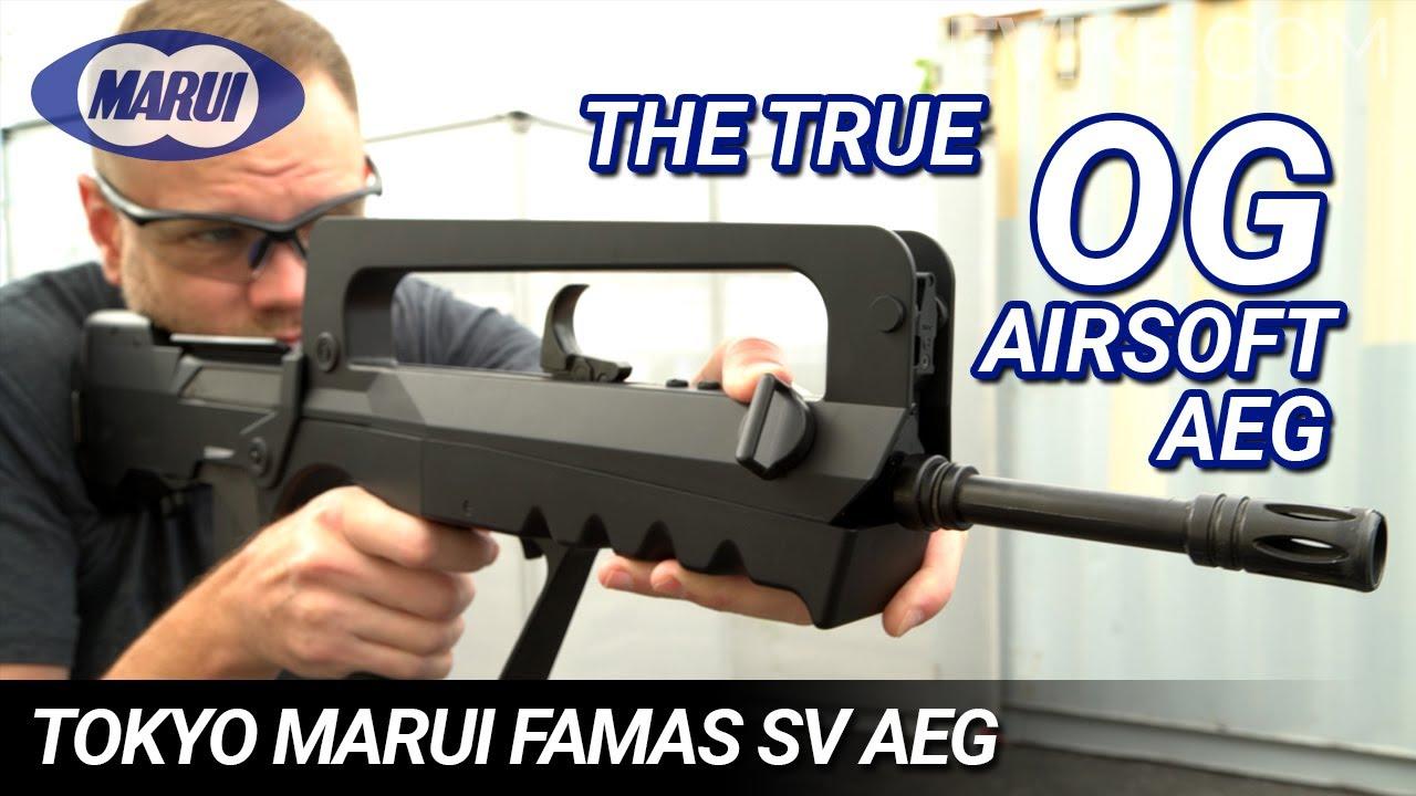 The True OG Airsoft AEG – Tokyo Marui FAMAS SV AEG – Critique