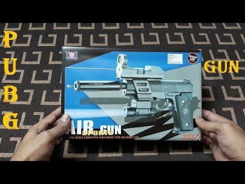 PUBG Toy Gun – Pistolet à balle Airsoft Ball, Déballage et avis
