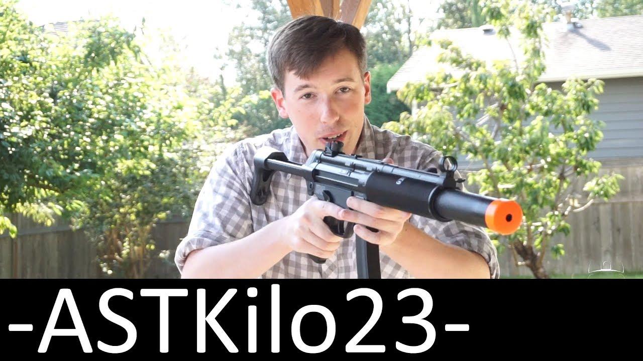 Test du pistolet électrique Umarex MP5 SD6 Airsoft