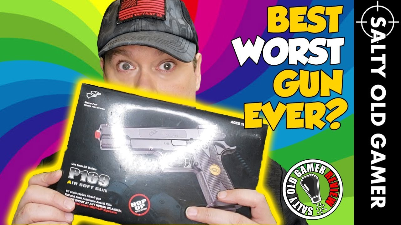 Choquant! 😱 P169 Airsoft Pistol Review | SaltyOldGamer Airsoft Review