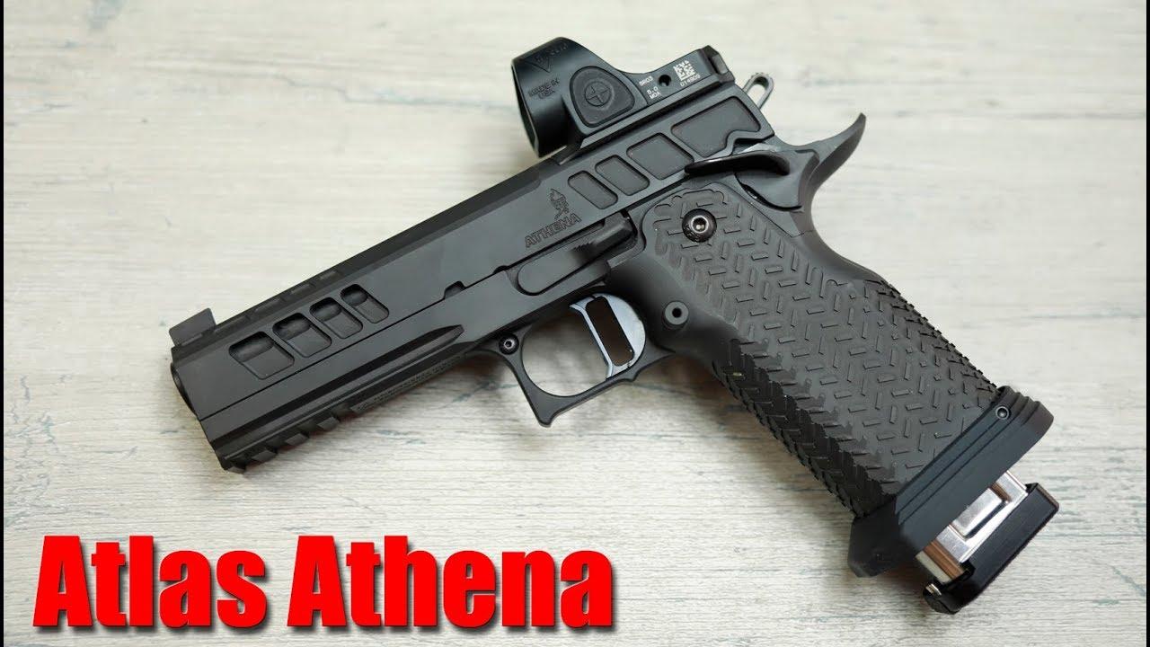 Atlas Gunworks Athena 1000 Round Review: l'arme de poing la plus précise jamais conçue