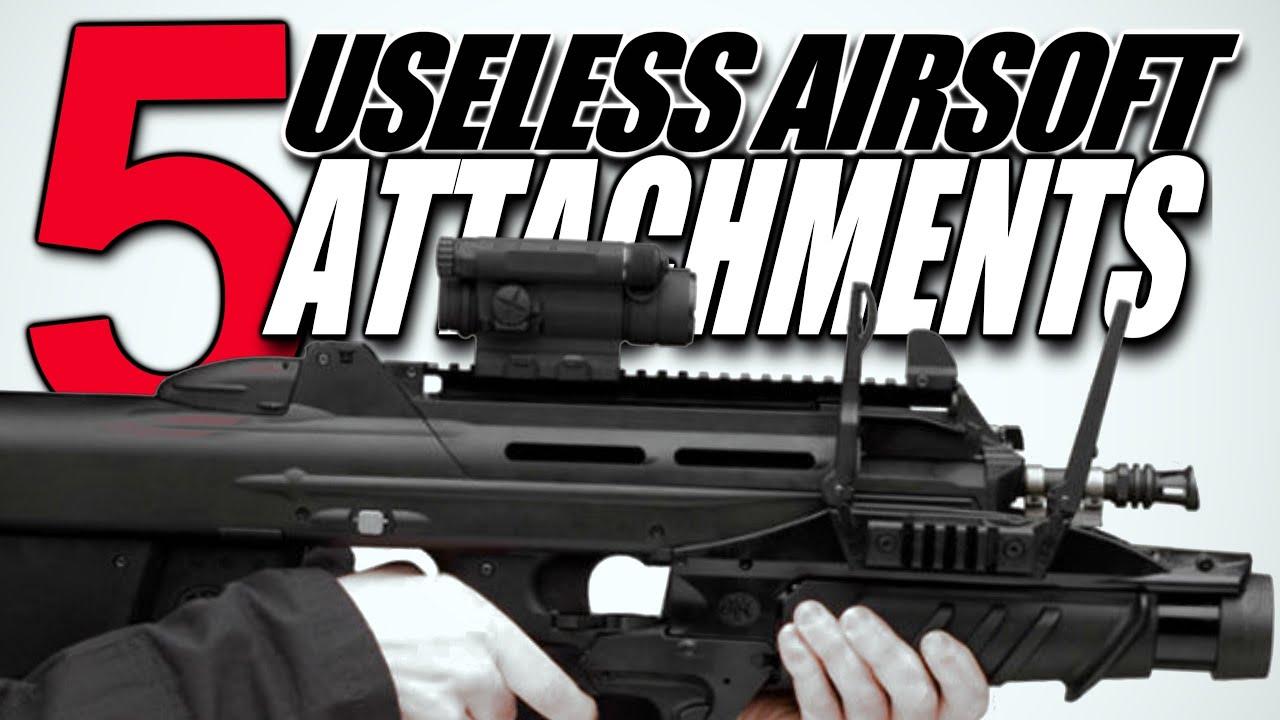 5 accessoires Airsoft inutiles