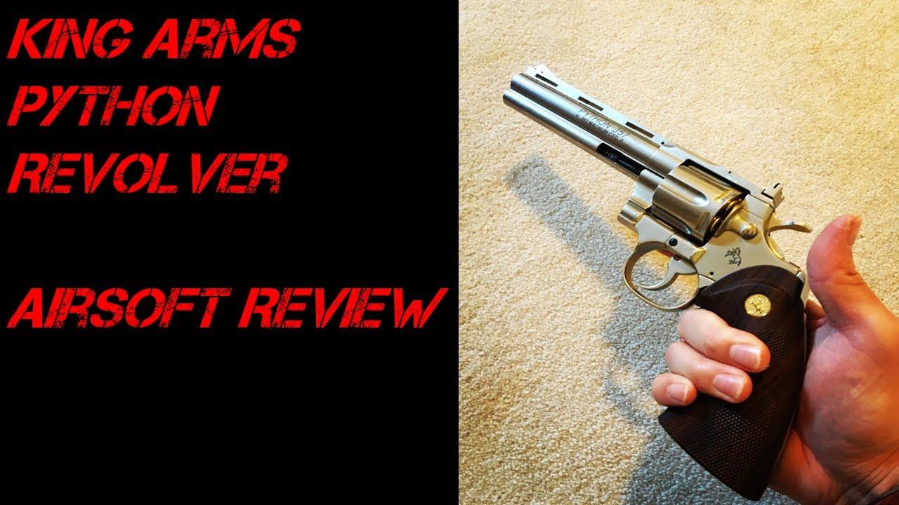 Revolver à gaz Python de King Arms | Airsoft Review