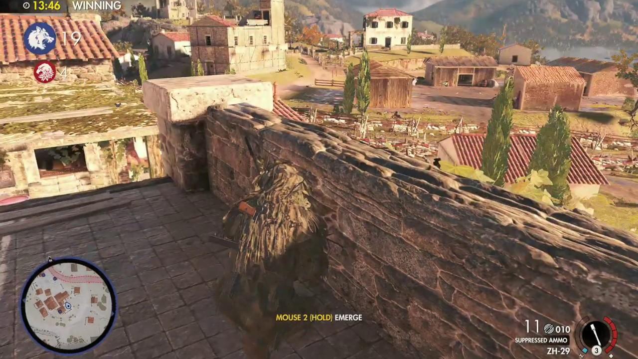 Sniper Elite 4 – Pas de croix – 24 victimes / 1 mort