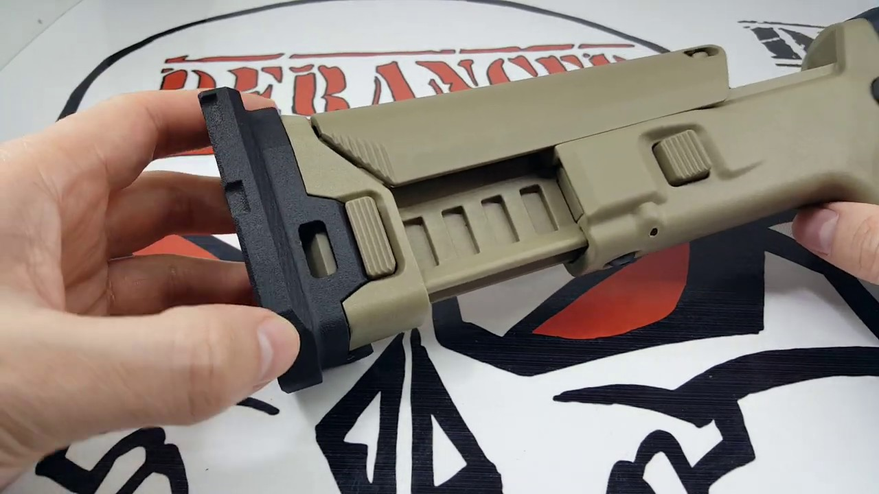 Adaptateur Airsoft Scar Stock
