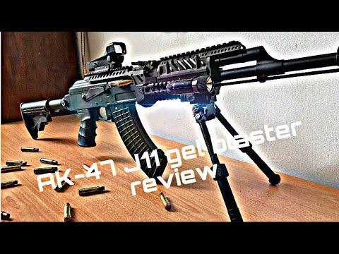 Test du gel blaster J11 AK-47