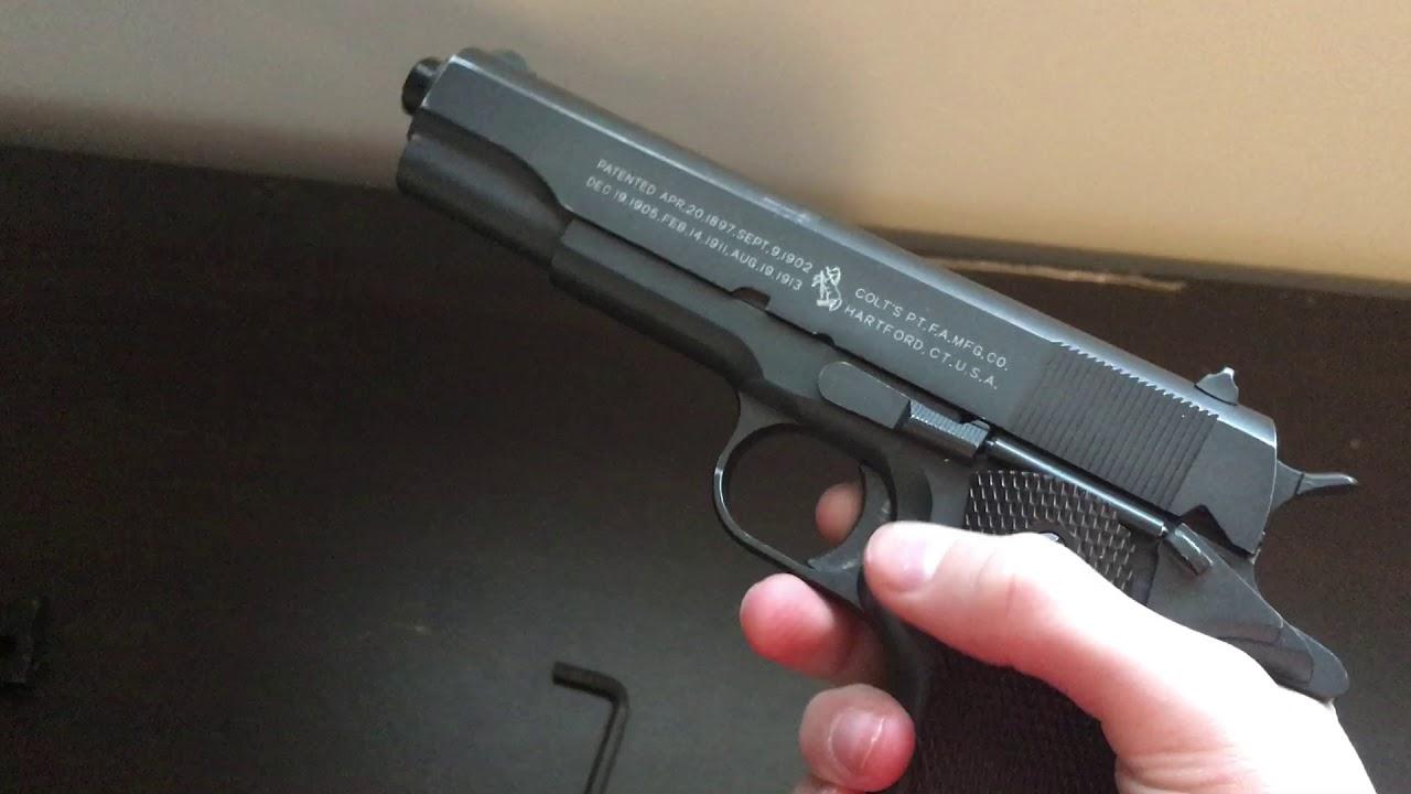Pistolet airsoft Cyber Gun M1911A1 CO2 Blowback