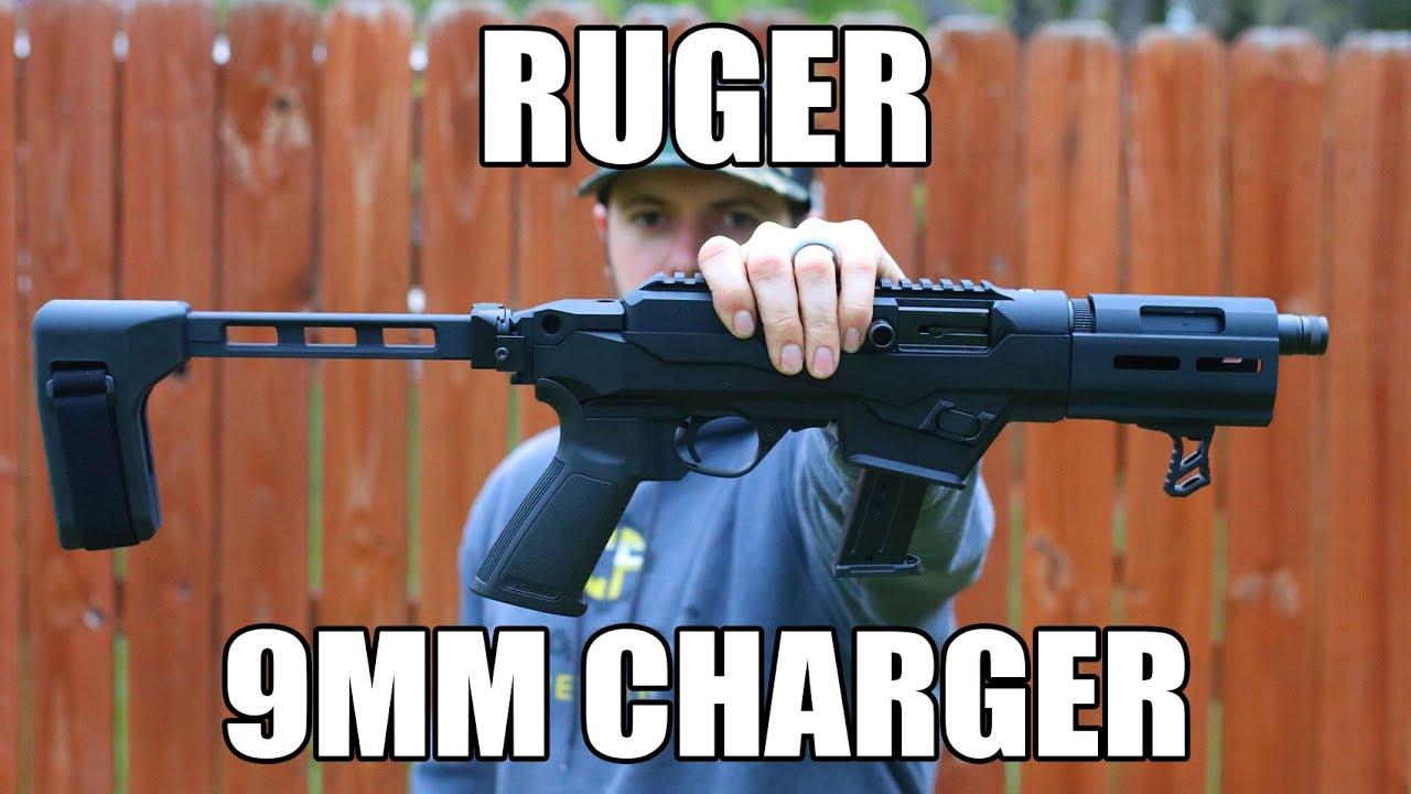 Le pistolet de retrait compact pour chargeur Ruger PC de 9 mm