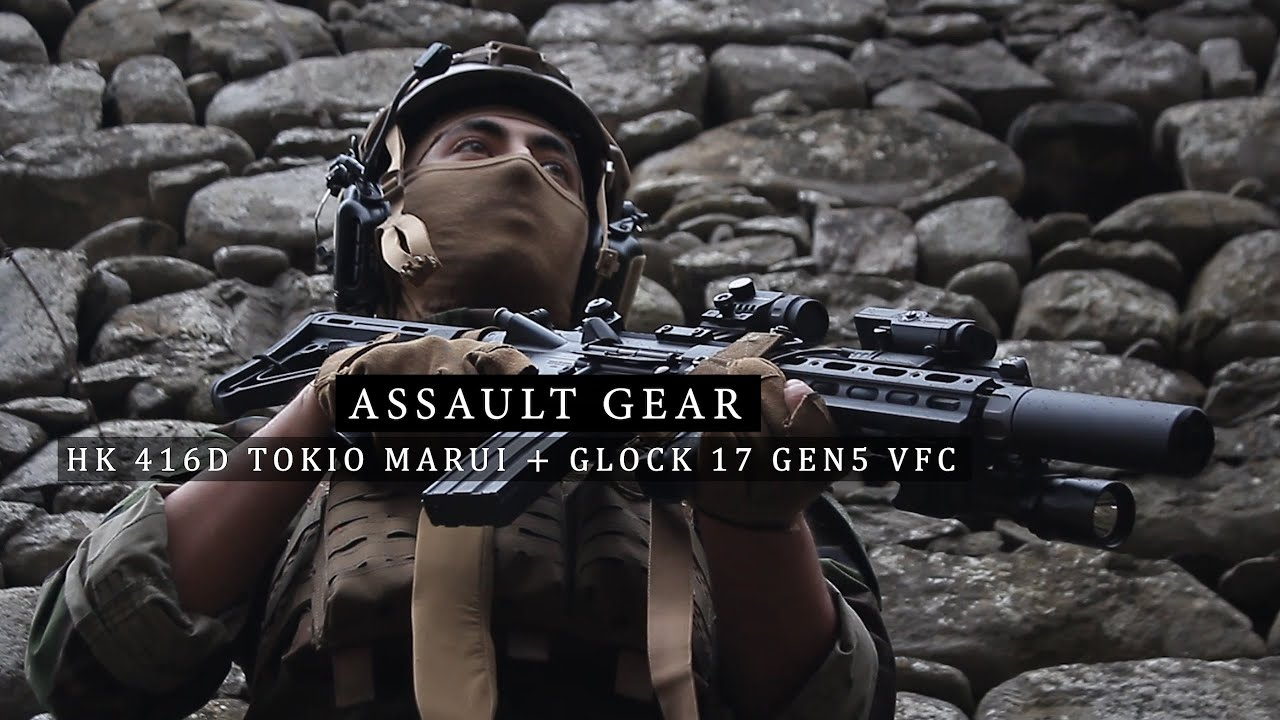 MY AIRSOFT LOADOUT 2020 – HK416 Delta TM & Glock 17 GEN5 UMAREX – Woodland & Coyote – ITA / SUB ENG