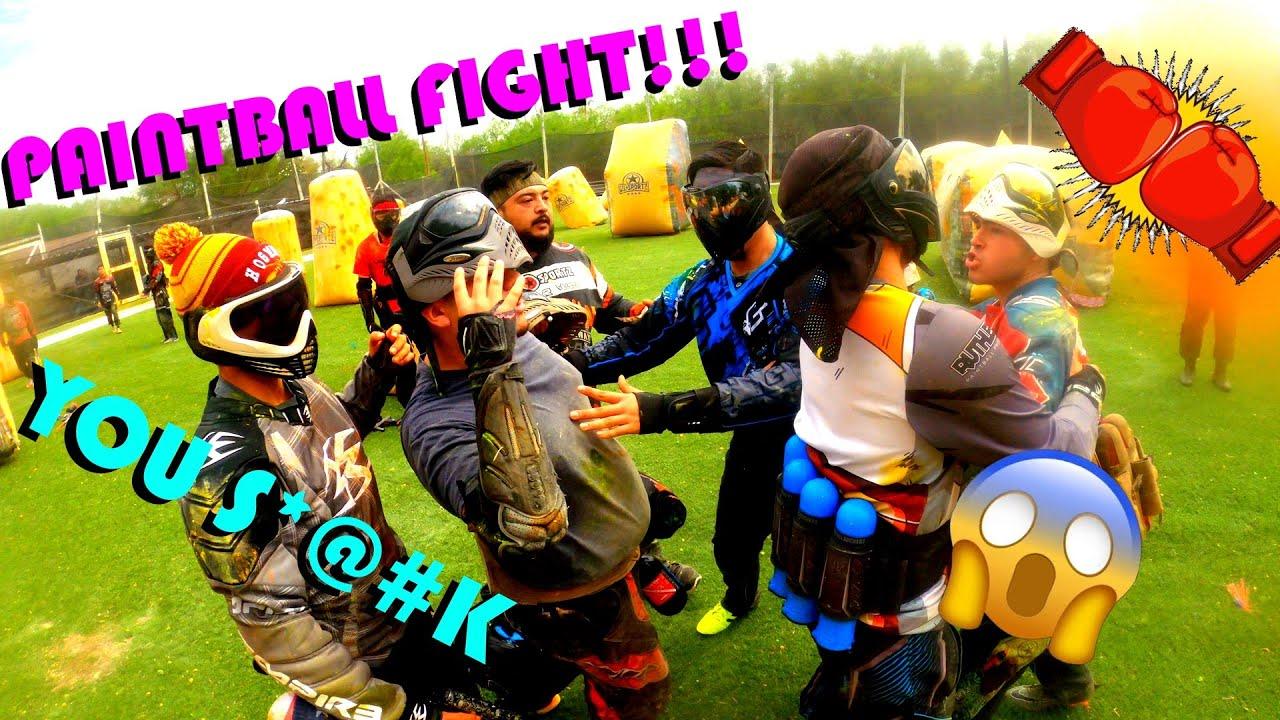 PAINTBALL FIGHT !!!! – JOUER AVEC DES ÉQUIPES !!!