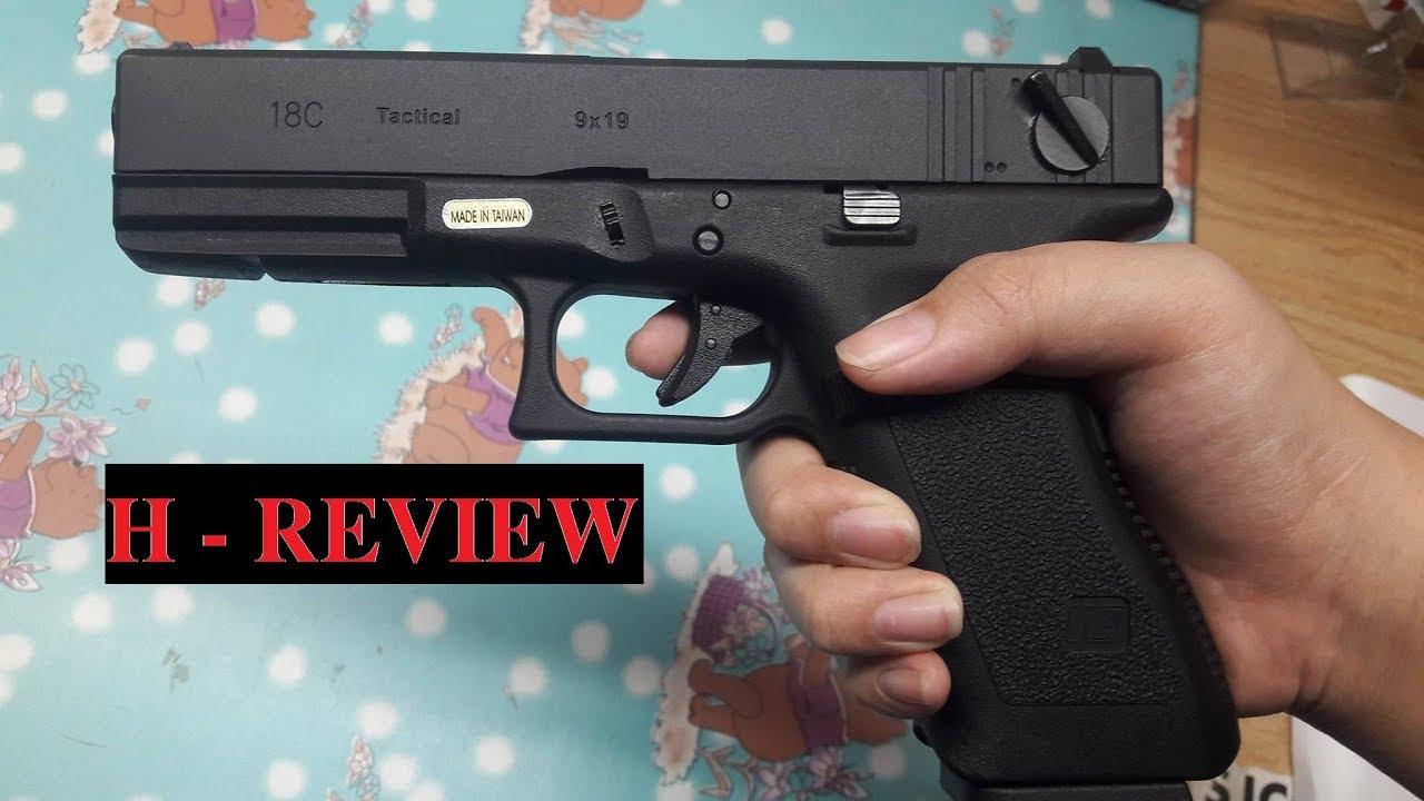 Ouvrez la boîte d'Airsoft Glock 18c ✓ | Site Web de commande: airsoftvn.weebly.com