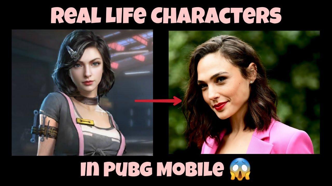PUBG Mobile – Meilleur personnage de la vie réelle dans Pubg (Partie 2)   Acteurs hollywoodiens dans Pubg Mobile