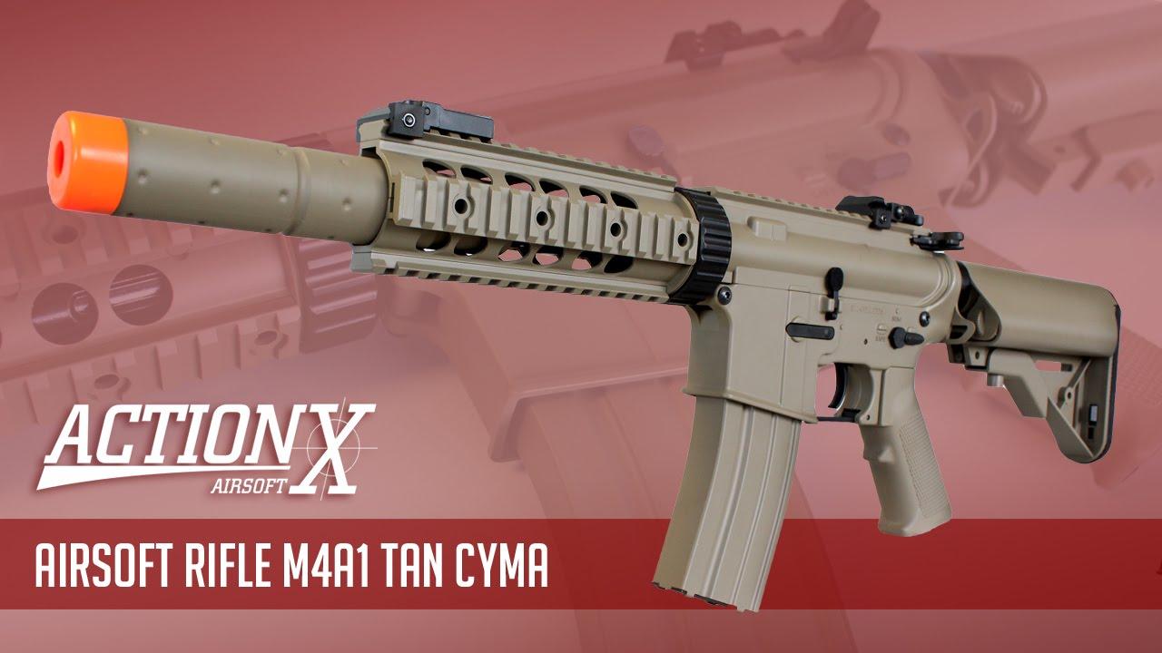 Avis – M4A1 Tan CYMA Airsoft Rifle
