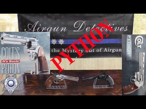 """Colt & # 39; s Python .357 (Co2 .177 / 4.5mm) par Umarex """"Full Review Plus"""" par Airgun Detectives"""