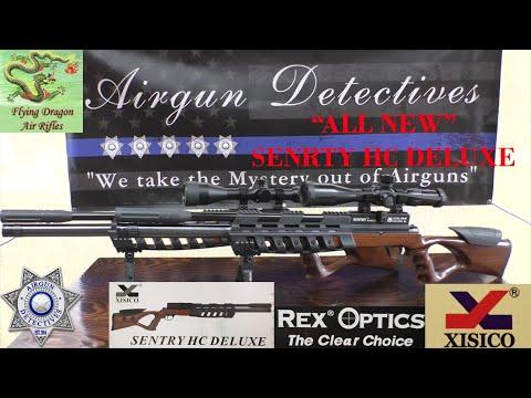 """""""Nouvelle"""" carabine à air comprimé Sentry HC Deluxe PCP """"Critique complète"""" par Airgun Detectives"""