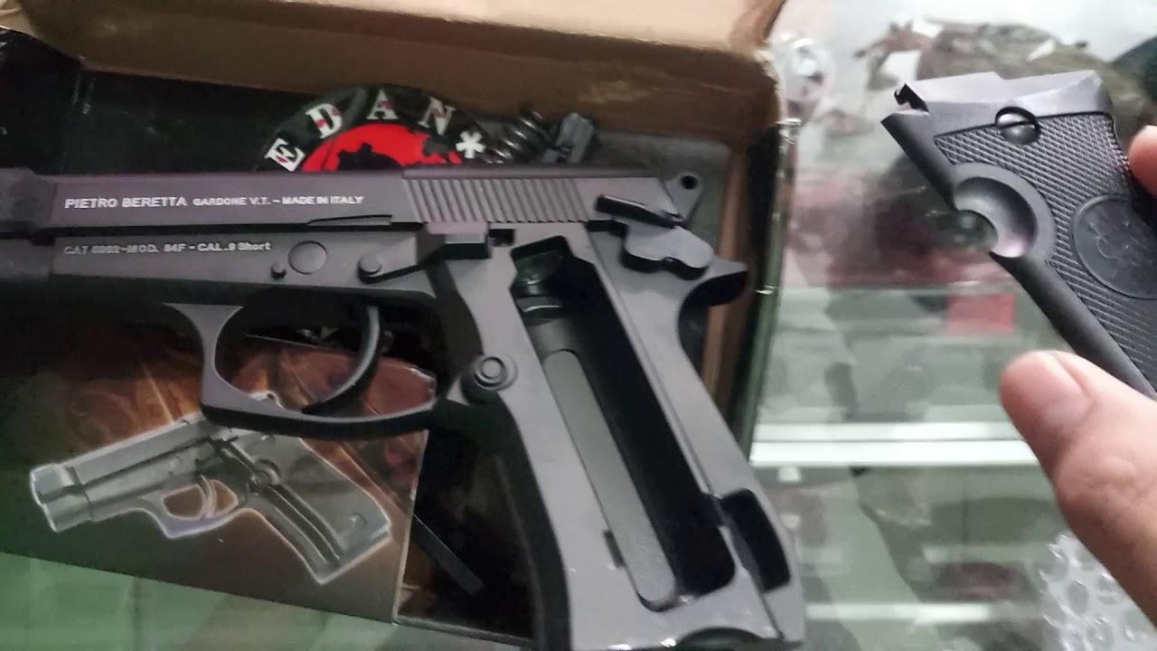 JUSTE REVUE !!! Pistolet à air comprimé Medan à mise à niveau complète WinGun M84