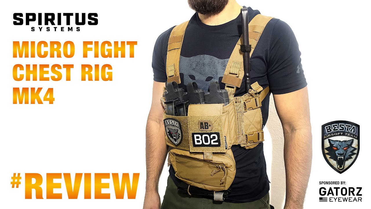 Critique de Spirit Fight Systems Micro Fight Chest Rig Mk4 [ High Speed, Low Drag ]