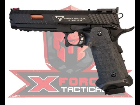 Test du John Wick TTI STI 5.1 Combat Master Gel Blaster par X-Force Tactical