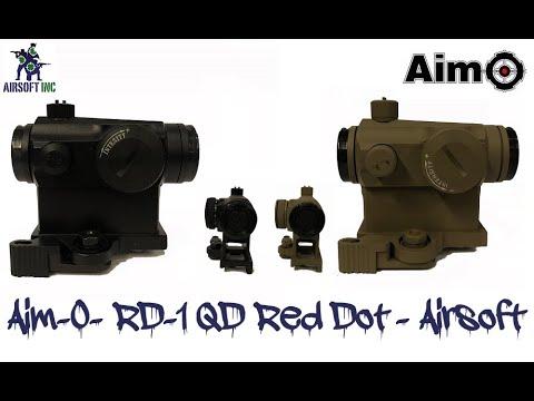 Aim-O- RD-1 QD Red Dot – Tan – Airsoft