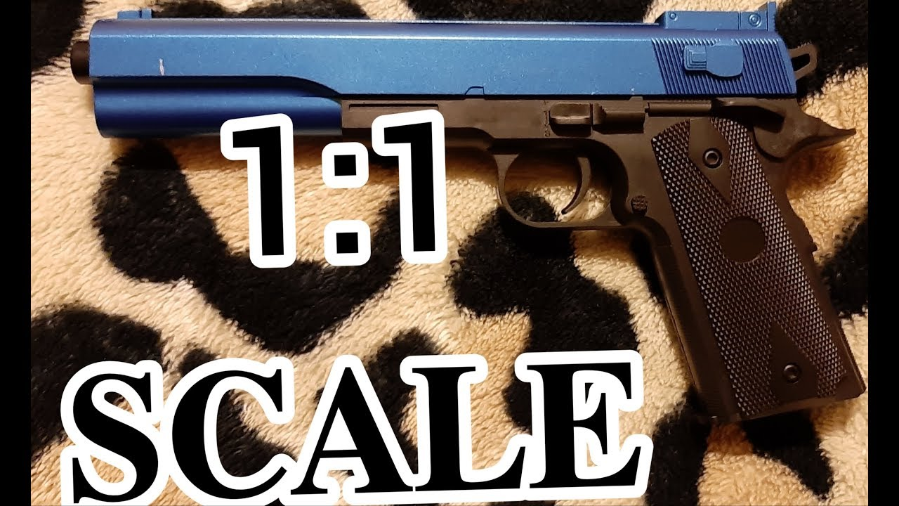 1: 1 Vigor gun stater set m4 and p1911 review (no its its this cheap) part 2