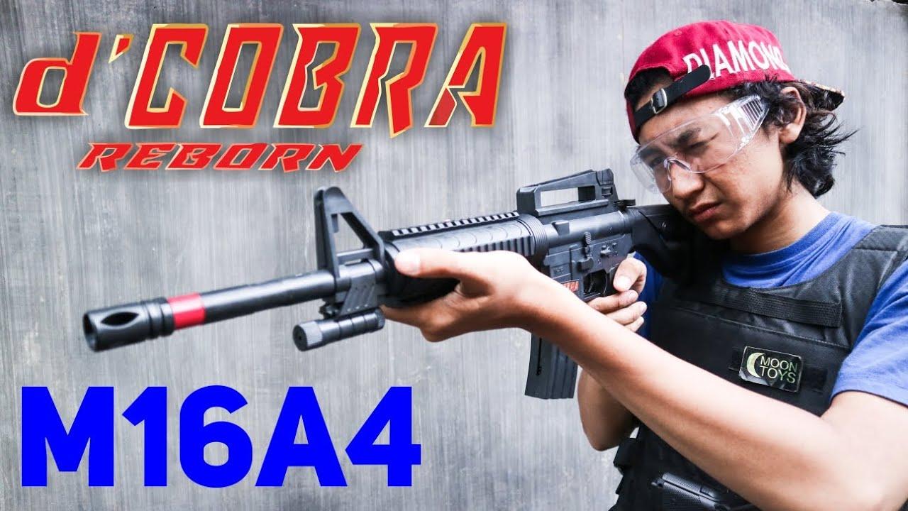 M16A4 Review 'COBRA – Spring Airsoft 🇮🇩
