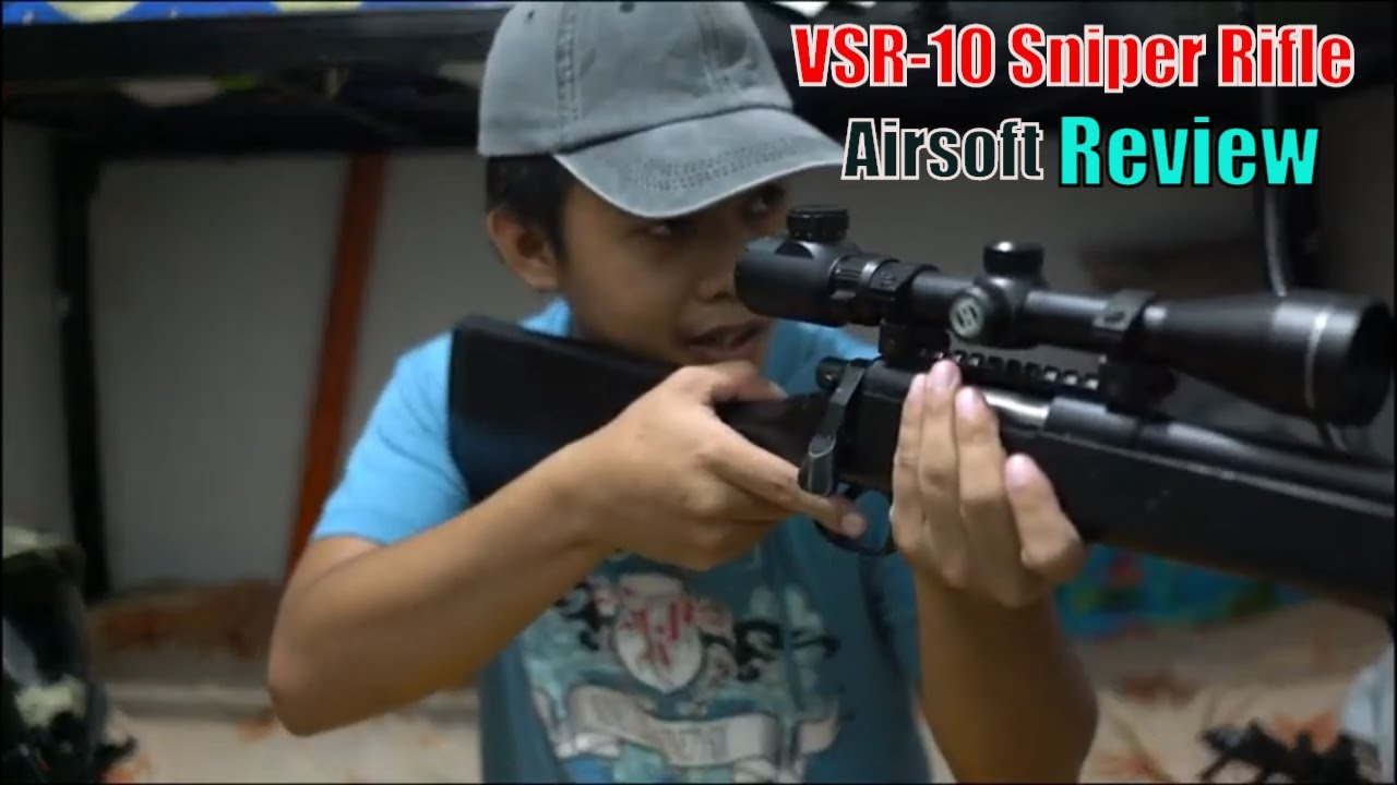 VSR-10 Airsoft sniper Review!