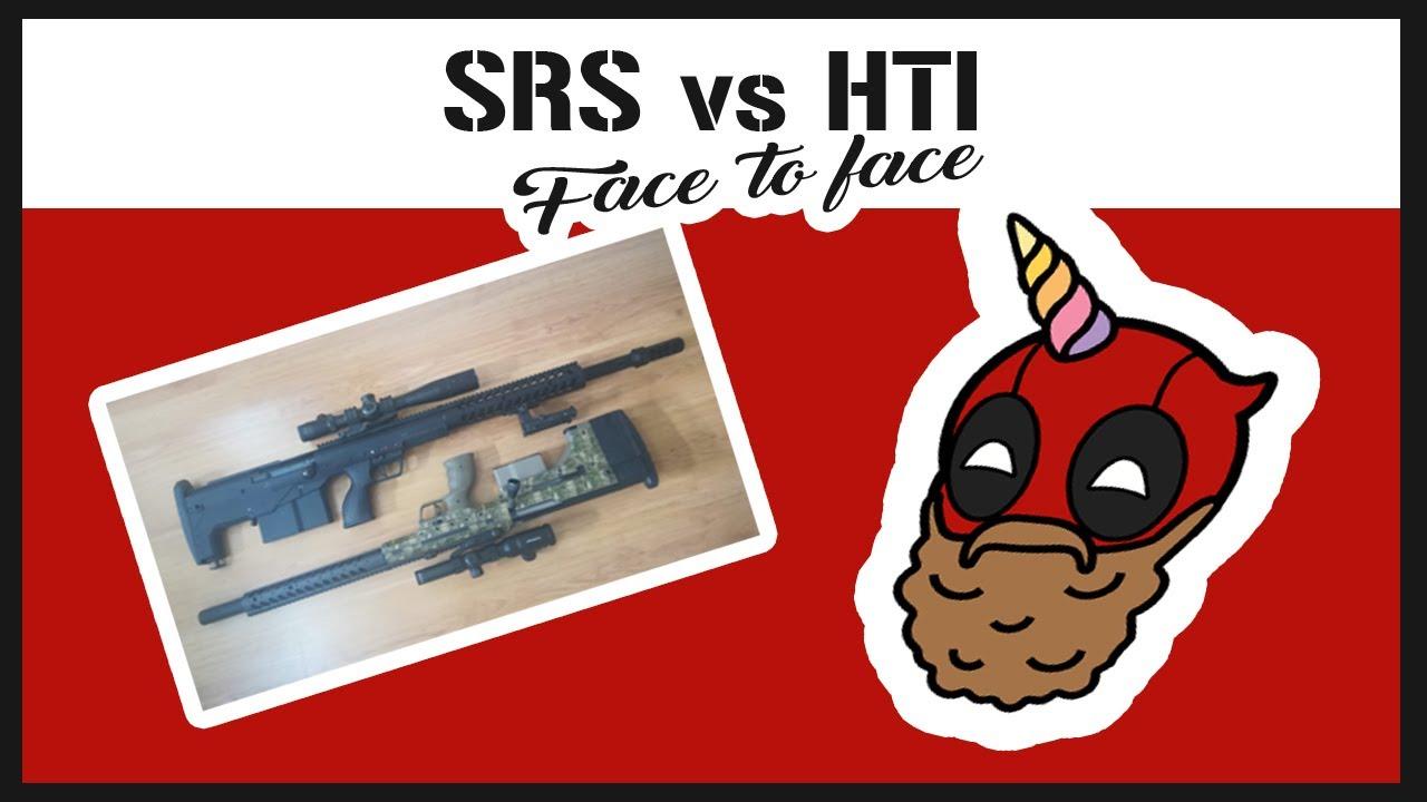AVIS AIRSOFT – Face à face HTI vs SRS