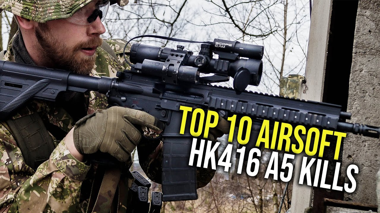 TOP 10 AIRSOFT HK416 A5 TUE | ARCTURE