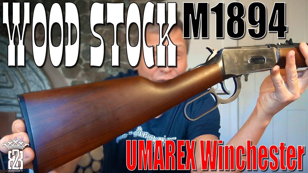 Kit de crosse en bois A-PLUS – UMAREX Legends Cowboy Rifle Winchester M1894