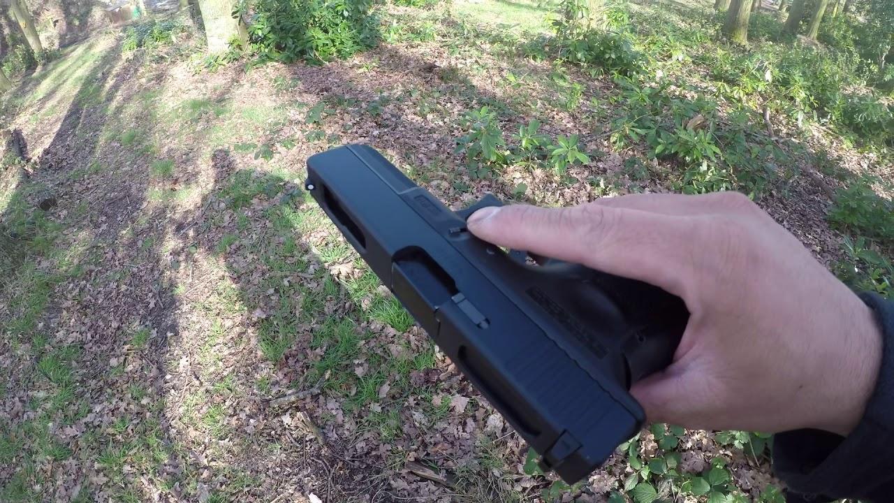 Revue rapide entièrement automatique WE Glock 18C Gen4 airsoft