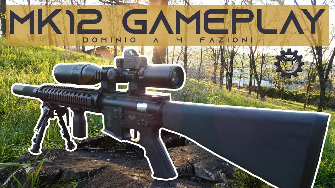 MK12 AIRSOFT GAMEPLAY – Domaine 4 équipes   SMT AirSoft