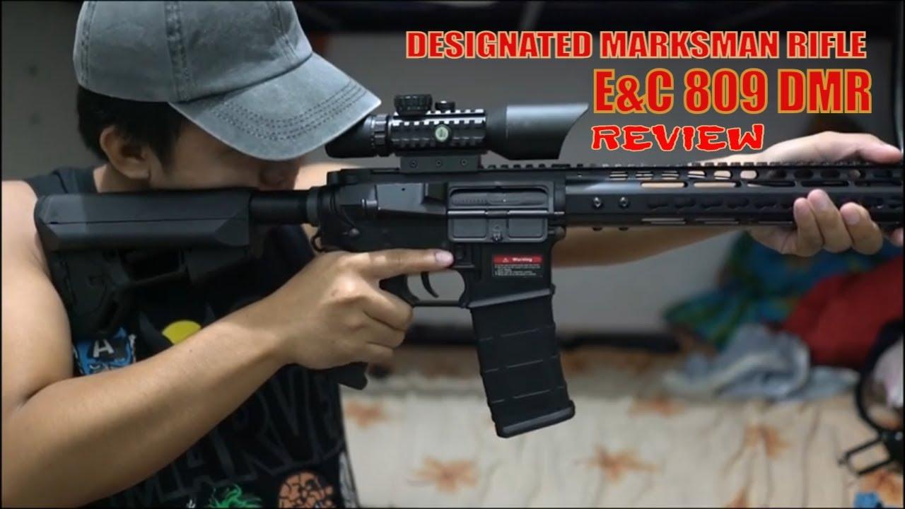 Examen E&C 809! Fusil de tireur d'élite désigné (DMR)