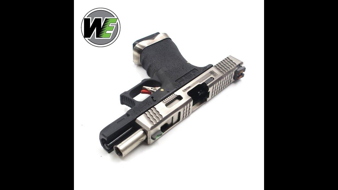 WE G19 CUSTOM SLID-SLIDE | Airsoft Guns Unboxing De Shogun.NL