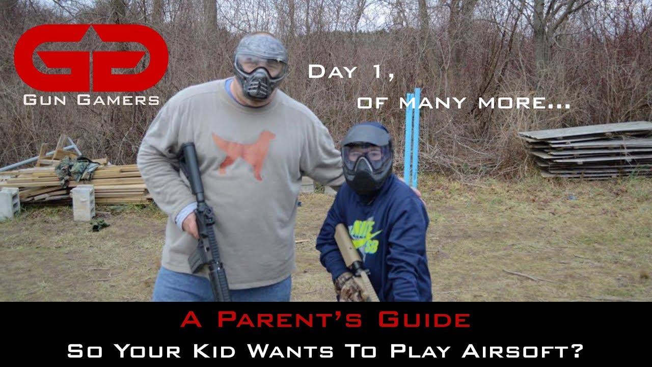 Guide des parents: donc votre enfant veut jouer à l'airsoft?
