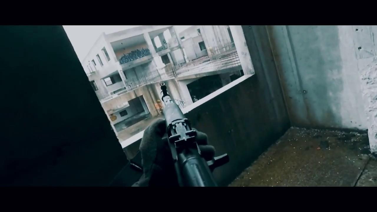 AK-74 Airsoft Match – Call of Duty dans la vraie vie