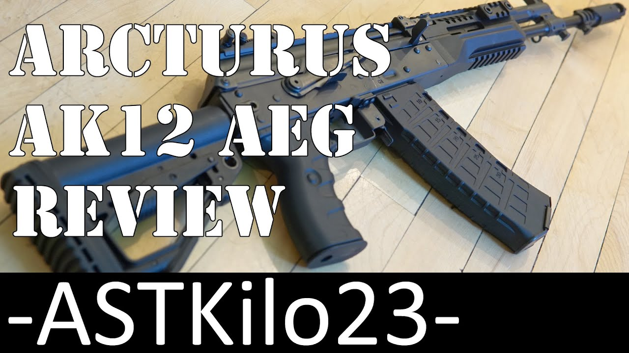 Avis Arcturus AK12 Airsoft AEG