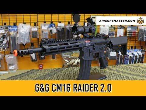 G&G Combat Machine CM16 Raider 2.0 Airsoft Gun Review