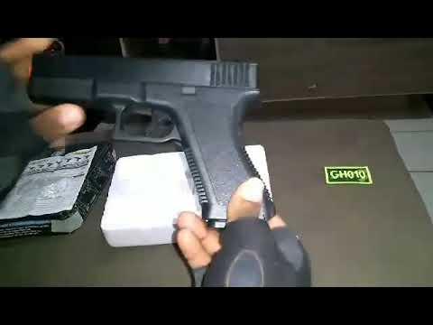 REVUE: Pistolet Glock G7-SPRING