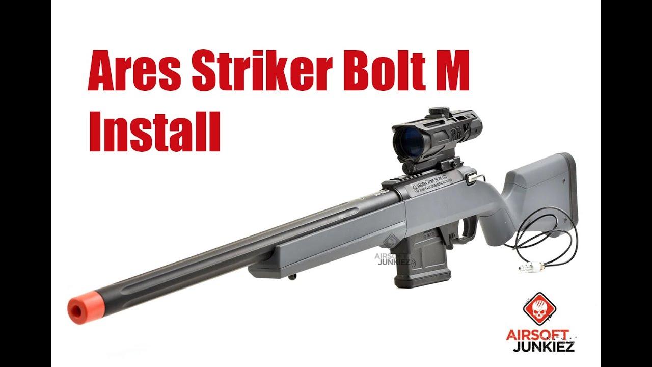 Airsoftjunkiez Wolverine Bolt-M Ares Striker HPA Installer