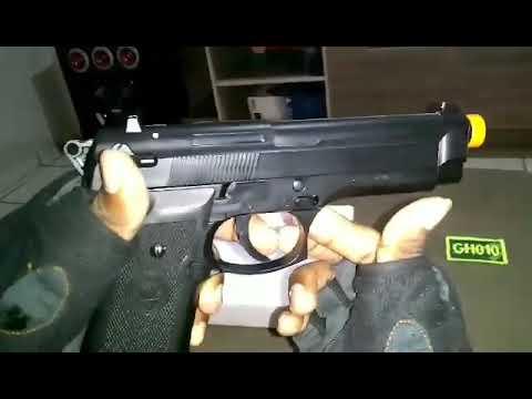 REVUE: Pistolet Bereta M92 – Printemps