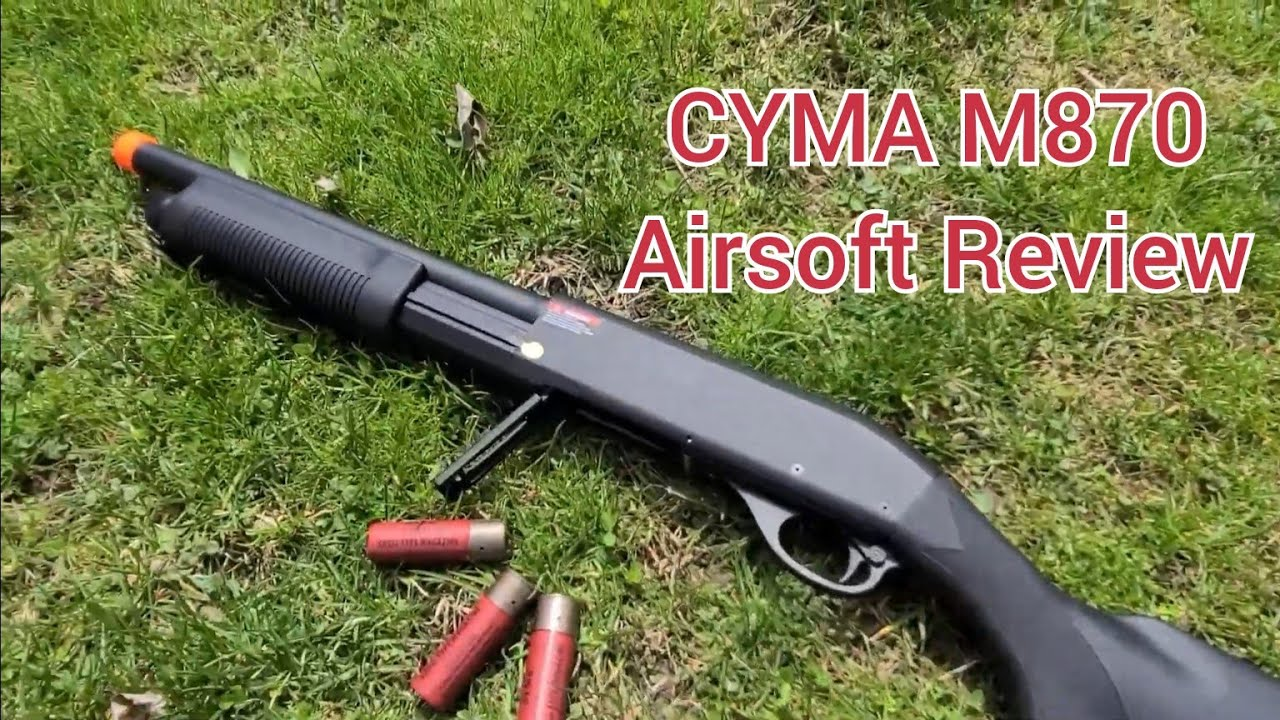 Cyma M870 Airsoft Shotgun Review