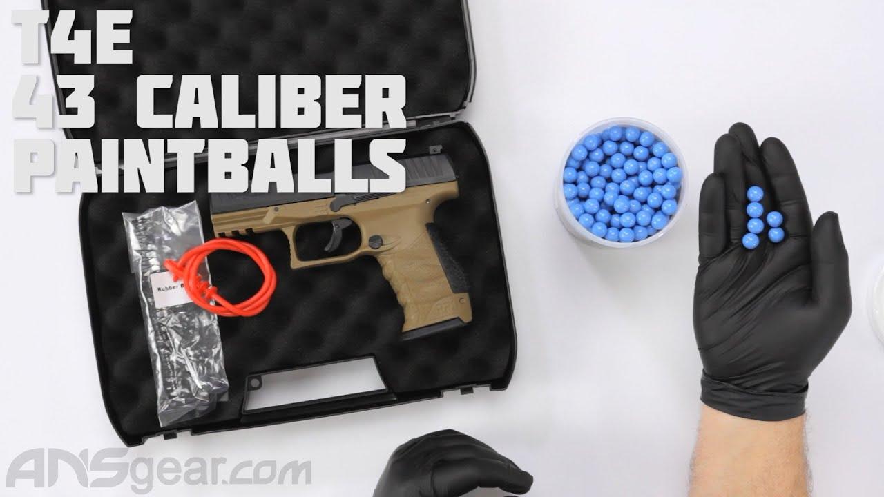 Balles de précision T4E 43 – Examen