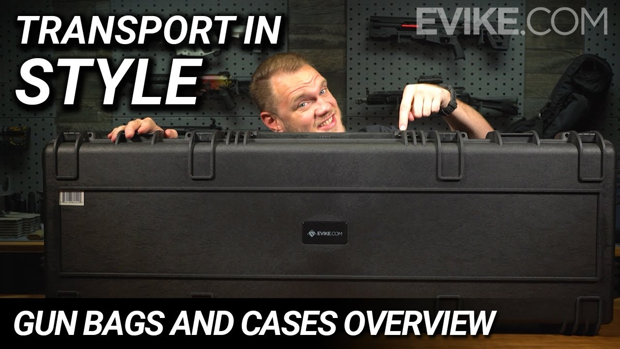 Transport In Style – Airsoft Gun Bags and Cases Vue d'ensemble