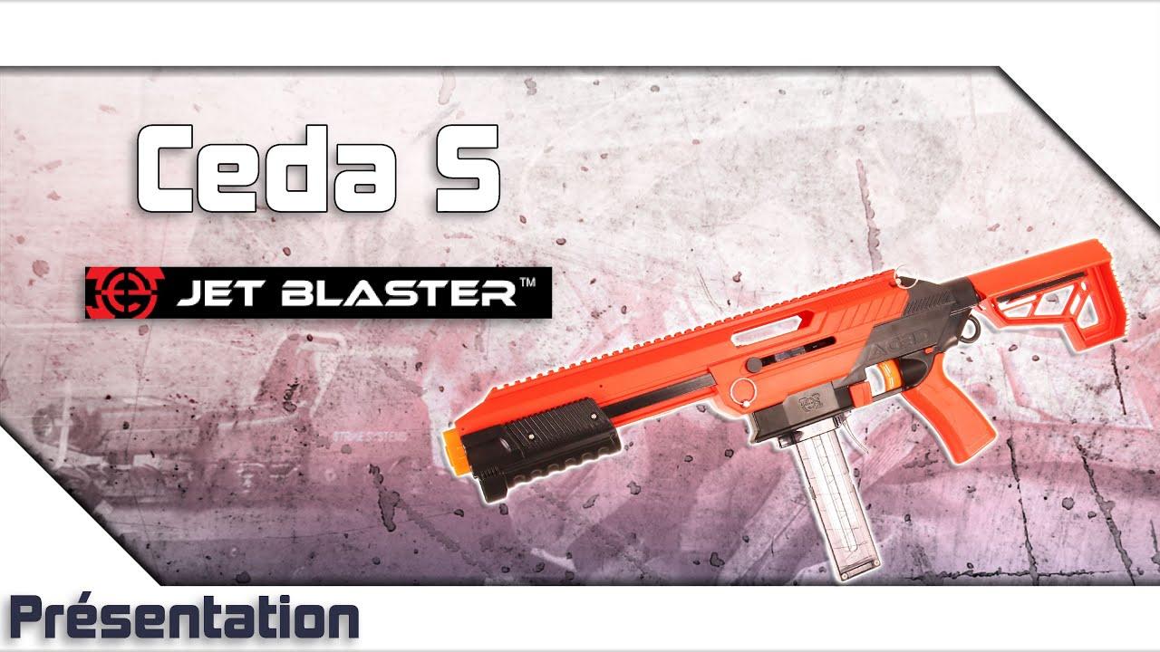 [Ceda S – Jet Blaster] Présentation   Review   Airsoft FR – EN subs